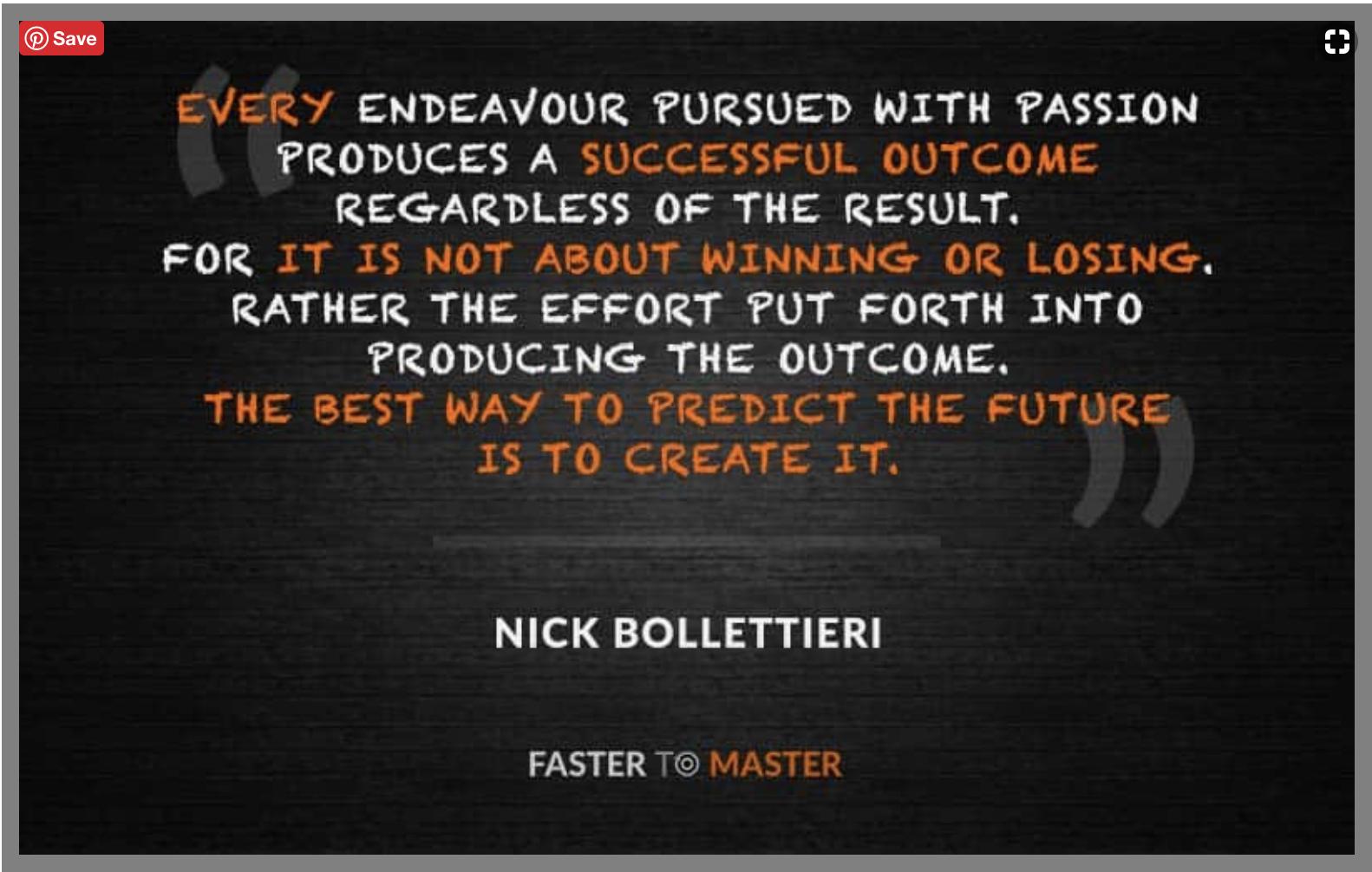 Quote - Create the Future